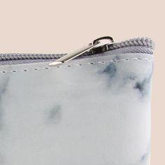 Fashion Marmor Färg Kosmetisk Väska PU Läder Dragkedja Makeup Brush  Förvaringsväska Travel Handväska Skönhetsverktyg Påse Make Up Verktyg 60e7ab0987418