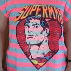 Mi obsesión Mascara De Latex Superman DC Comics Tshirt