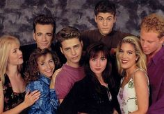 Who else has been binge watching Beverly Hills 90210 tvshow nostalgia childhood classic memories remember neverforget tuesday Beverly Hills 90210, Best Tv Shows, Best Shows Ever, Ian Ziering, Jason Priestley, Jennie Garth, Shannen Doherty, Luke Perry, Comics