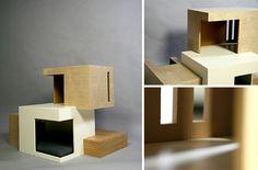 사라 추에 의한 서식지 '11 현대 고양이 하우스