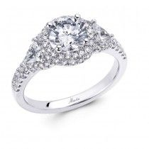 Save Engagement Ring Stores, Round Cut Engagement Rings, Halo Diamond Engagement Ring, White Gold Wedding Rings, Fashion Rings, Diamond Cuts, Bride Groom, Wedding Bride, Wedding Ideas