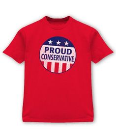 Proud Conservative Red Tee