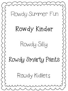 Rowdy in Room 300: freebies.  Some fun fonts.