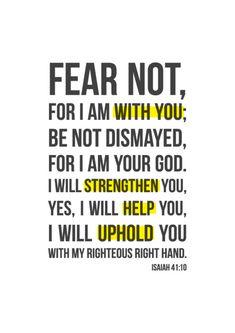Isaiah 41:10 <3 best verse
