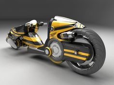 Futuristic bike #7