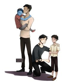 Malec and their kids