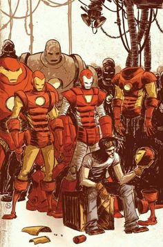 Iron man generations