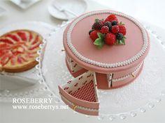 part de gâteau