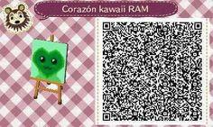 Este es un QR Code para Animal Crossing, creado por mí; como podéis observar, es un corazón kawaii, con un color verde oscuro. [12-18]  Lo podéis encontrar en mi canal de YouTube: https://www.youtube.com/channel/UCh6uwa2CjSgR4WQ-ghRQY6Q (Roxy).  ¡Espero qué os guste! ;)
