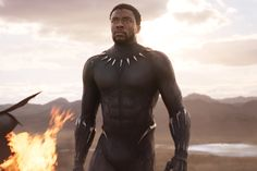 Chadwick Boseman didn't agree to star in 'Black Panther' because it's a Marvel film.Boseman is reprising his role as T'Challa in Black Panther.Well one, I mean they [Marvel]. Black Panthers, Film Black, Black Actors, Movie Black, Disney Marvel, Marvel Dc, Marvel Heroes, Kanye West, Dick Cheney