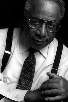 Alex Haley, author of ROOTS, man, male, history, story teller, photography, black and white