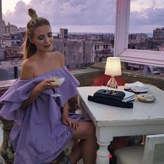 Have a glorious long weekend everyone! Enjoy the end of the summer have lots of healthy treats and take good care [: Leonie @ohhcouture ] #labordayweekend #haveagoodday #havefun #purple #festive #fashionblogger #fashion #havana #sunshine #enjoy