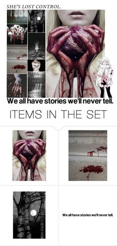 """We all have our stories we'll never tell - RTD"" by insane-alice-madness ❤ liked on Polyvore featuring art"