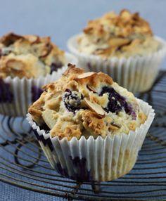 Blueberry Muffins - Almond Breeze