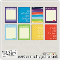 Hooked On A Feeling Journal Cards by Bella Gypsy Designs