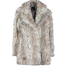 Mantel mit Animalprint - Ausgefallener beiger Mantel von Even&Odd. Ein Trendteil, das in keinem Fashionista-Kleiderschrank fehlen sollte! - ab 69,95€