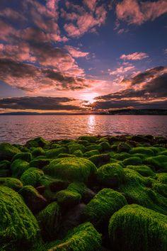Sunset (Steinkjer, Norway) by Terje Nilssen / 500px