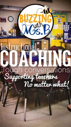 Buzzing with Ms. B: Tough Conversations: Supporting Teachers, No Matter What