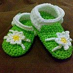 Free Crochet Baby Bootie Patterns - Karla's Making It
