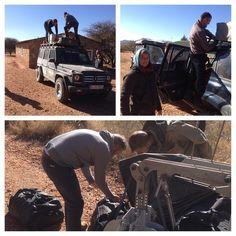 #wanderlust #namibia letzte #packkünste off to #Botswana #onthewaytomombasa