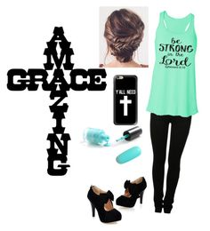 """""""cross"""" by eclovebug on Polyvore featuring MM6 Maison Margiela and Casetify"""