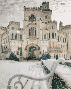 "okkulten: "" Hluboká Castle, Czech Republic. """