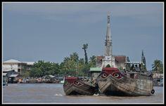 DELTA DEL RÍO MEKONG- CAI BE- (Vietnam)