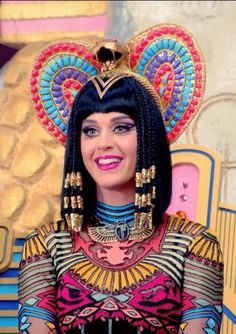 Beautiful katy perry as cleopatra