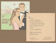 İlknur ve İbrahim'e özel olarak tasarladığımız davetiyemiz. #bentekim #bentekimdavetiye #davetiye #dugundavetiyesi #kisiyeozeldavetiye #ozeltasarimdavetiye #invitation #weddinginvitation #personalizedweddinginvitation #invitationdesign