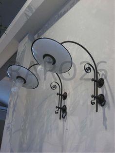 #Lampada #applique da esterno in #ferro