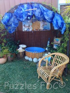 A day at the beach - Puzzles Family Day Care ? Natural Play Spaces, Outdoor Play Spaces, Outdoor Areas, Outdoor Activities For Kids, Outdoor Learning, Family Day Care, Preschool Rooms, Infant Classroom, Inspired Learning