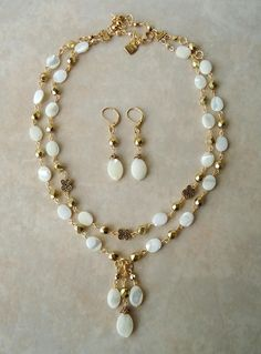 Keshi Pearl Necklace 29-14k Yellow Gold Seven-Strand Gold Beads