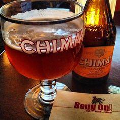 Photo by kimmallari - Bang on! #TGIF!  #chimay #belgian #beer #washingtondc #elephantandcastle #happyhour