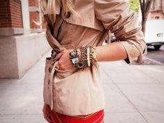 Arm candy #bracelets #gold #inspiration