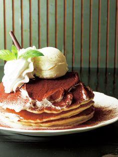Tokyo Pancakes : 【BRIDGE/ティラミスパンケーキ】新旧の人気スイーツがおいしくドッキング