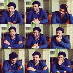 Prabhas, cute expressions Love u! Ummah