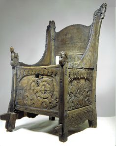 The medieval chair from Blakar. Before 1200.