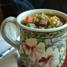 Recipe : Luxurious Beef Barley Soup