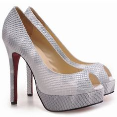 2e3777b8ff10 2015 New Cheap Christian Louboutin Altadama Toe Escarpins Python Outlet.