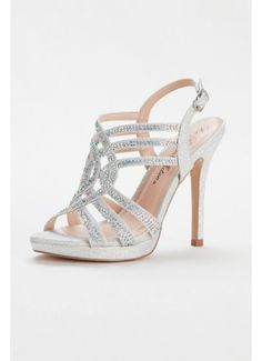 475bcae8ef2c74 Instantly spice up your party look with these high-shining strappy platform  sandals! These high heel strappy platform sandals are perfectly embellished  with ...
