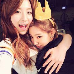WJSN - Yeoreum 여름 & EunSeo 은서 IG selca 160321 #셀카 #우주소녀 #宇宙少女