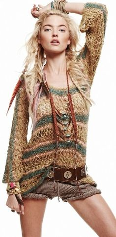 Free People ..BOHO bohemian hippie hippy gypsy style. For more follow www.pinterest.com/ninayay and stay positively #pinspired #pinspire @ninayay