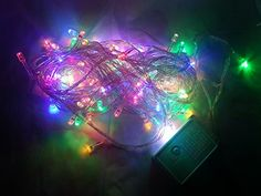 Christmas Twinkle LED Party Decorative String color changing lights with 8 modes. 10m 100 LEDs Red Green Blue Yellow colors. Ideal for Wedding Xmas Halloween Diwali Outdoor Indoor Decorative lights. Kohars http://www.amazon.com/dp/B0145NSP40/ref=cm_sw_r_pi_dp_Vp7awb1FHZENP