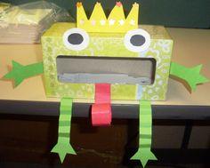 frog prince valentines box