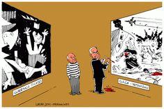 Guernica Picasso Gaza Netanyahu