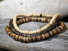 Mens Bracelet  Wood Bracelet  Mans Jewelry  by StoneWearDesigns, $34.00