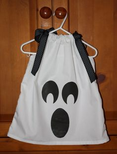 Halloween Ghost Pillowcase Dress