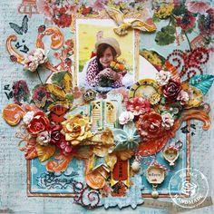 Beautiful Dream *Prima* - Scrapbook.com