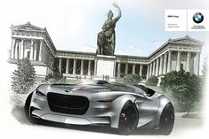 On the occasion of the 100th anniversary of first foundation of BMW, I present you the BMW Rapp Concept. The basic idea was to embrace the history of BMW making this concept represent of everything that BMW stands for as a company, like some sublimation o…