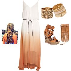 """summer time"" by danae-2-smile on Polyvore"